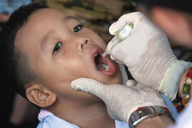 Nieuw oraal poliovaccin in een stroomversnelling