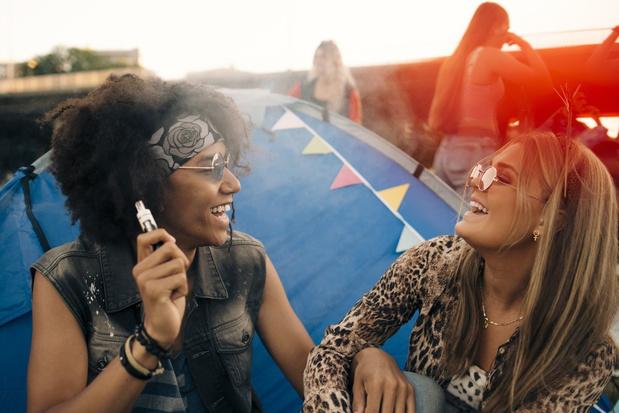 Aroma's in e-sigaretten mogelijk gevaarlijk voor de gezondheid