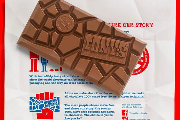 Tony's Chocolonely van ethische chocoladelijst gehaald door samenwerking Callebaut