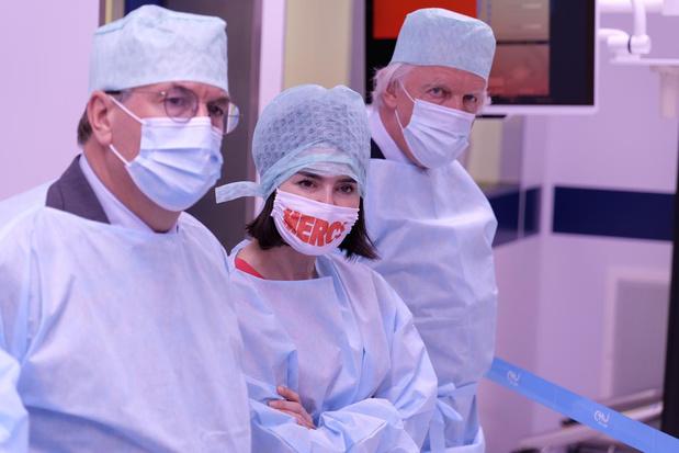 Le CHU de Liège s'équipe de quatre salles d'opération ultramodernes