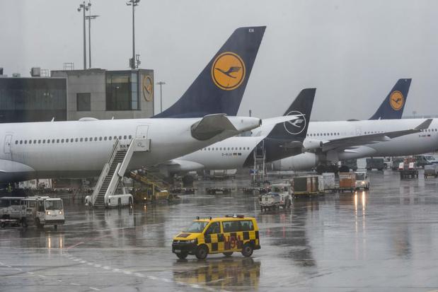 Lufthansa en dochter Brussels Airlines lijden recordverlies