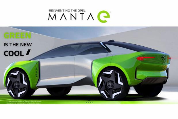 Manta maakt comeback met elektrische aandrijving