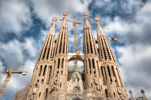 Corona vertraagt afwerking Sagrada Familia in Barcelona