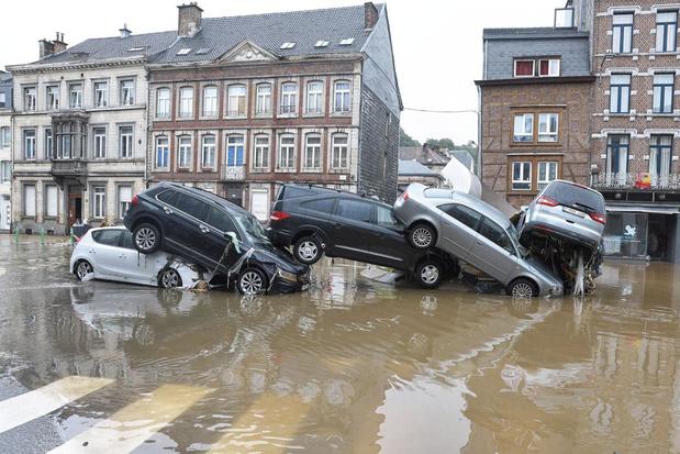 Inondations : la N-VA veut une commission d'enquête à la Chambre