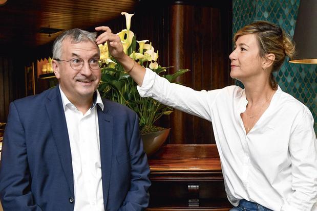 Entretien croisé entre le ministre-président de la FWB Pierre-Yves Jeholet et la comédienne Virginie Hocq