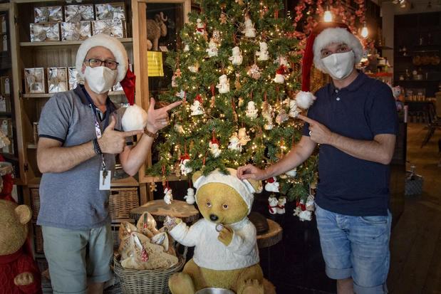 Warmste dag van het jaar, maar Feelgood Store in Kortrijk haalt kerstversiering al boven