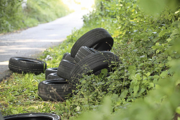 Les pneus, premiers pollueurs des eaux en Flandre
