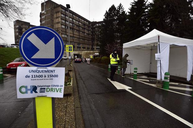 Début de la vaccination du personnel au CHR de la Citadelle à Liège