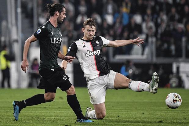 Matthijs de Ligt krijgt komende maanden volop zijn kans bij Juventus