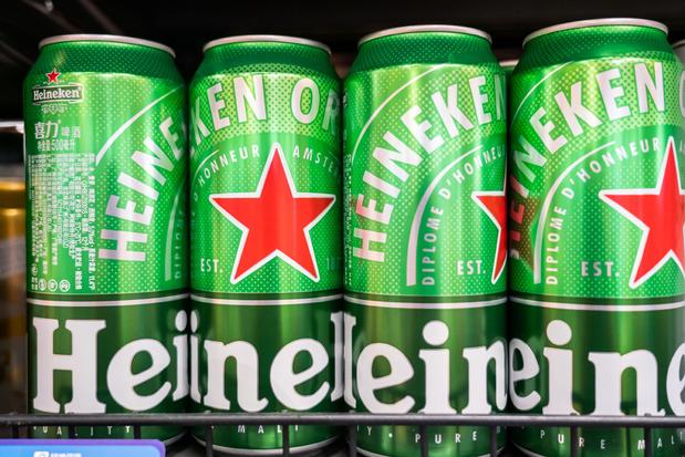 Heineken ziet verkoop met 10 procent stijgen in eerste semester