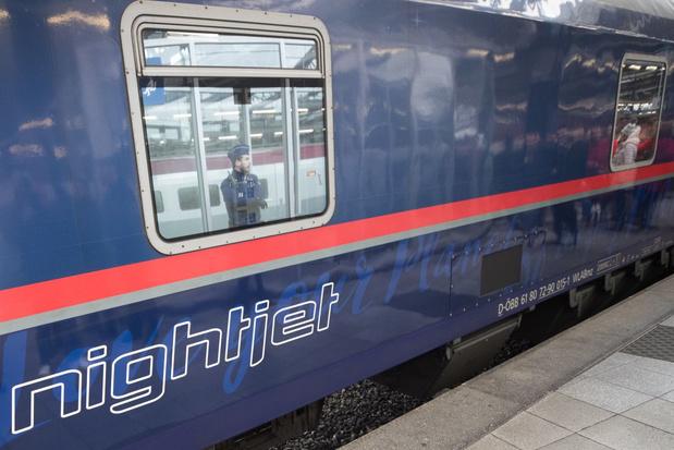 Nachttrein naar Oostenrijk keert niet voor eind mei terug