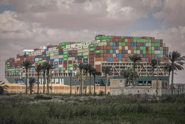 Les gagnants du blocage du canal de Suez