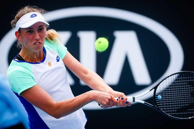 Australian Open: Elise Mertens naar achtste finales, David Goffin strandt in derde ronde
