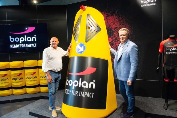 Safety Totem zorgt voor meer veiligheid tijdens E3-wielerwedstrijd