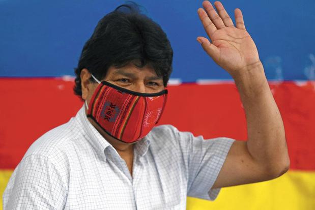 Ex-president Evo Morales terug uit ballingschap: 'Dit bewijst dat er in 2019 een staatsgreep was'
