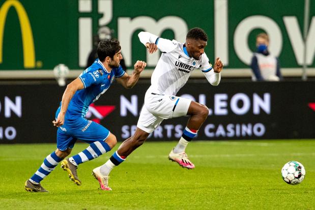 Club Brugge wint inhaalmatch in Gent met 0-4