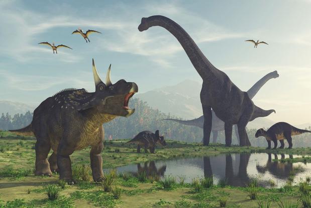 Tijdperk van de Dinosauriërs kende, ondanks hitte, toch seizoensverschillen
