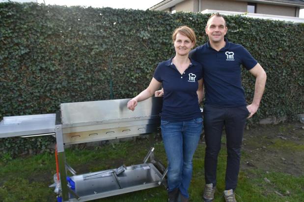 Koen Simons en Griet Vandenberghe starten met catering in Zwevezele