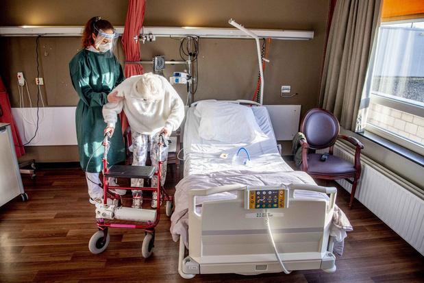 La baisse des admissions à l'hôpital se poursuit avec une moyenne quotidienne de 520, 198 morts quotidiennes