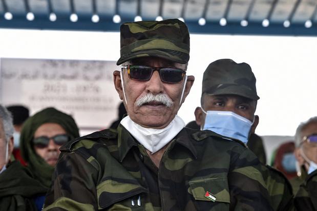 Polisario-leider Brahim Ghali is in Algerije