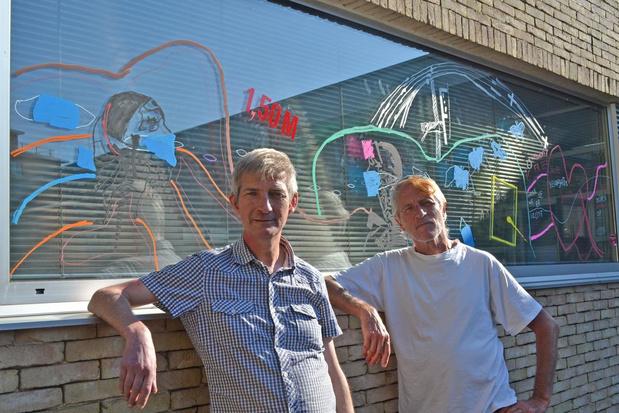 Mondmaskers inspireren kunstenaars in Deerlijk