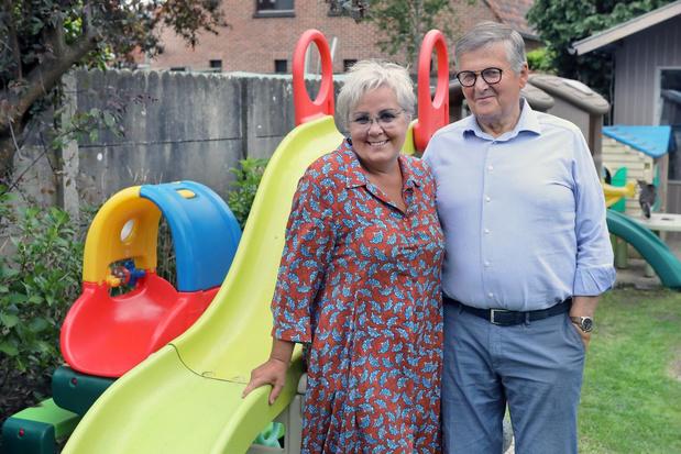 Oma Jet en opa Eric stoppen na vele jaren als onthaalouders
