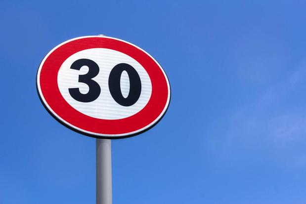 Brusselse regering keurt besluit voor zone 30 in heel Brussels gewest goed