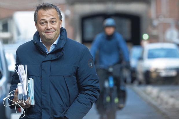 Egbert Lachaert, président de l'Open Vld, veut évaluer les parlementaires de son parti