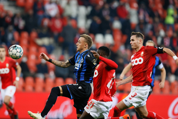 Standard houdt in extremis punt thuis tegen Club Brugge