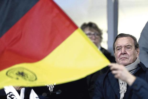 Ex-bondskanselier Gerhard Schröder: 'Merkel heeft één belangrijke fout gemaakt'