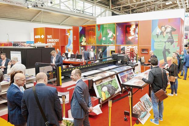 Drukkerijen vinden de weg naar large format printing