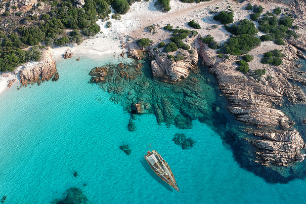 Nog nooit zo warm in Sardinië