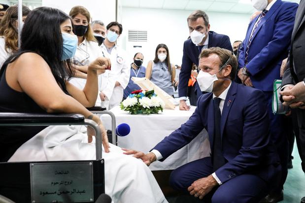 Macron: Libanon krijgt binnen de twee weken nieuwe regering