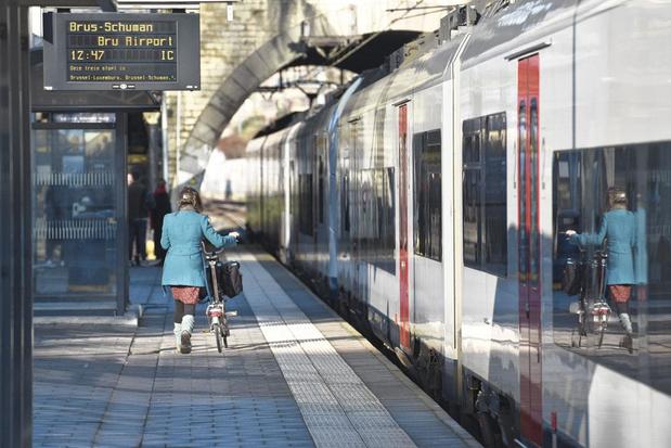Le vélo pliable voyage gratis avec la SNCB