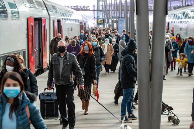 NMBS raadt af om dinsdag en woensdag naar zee te reizen met de trein