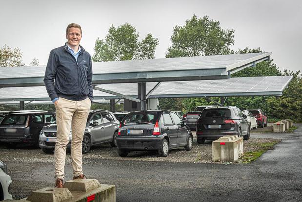 Zonnepark bij Westvlees is ook parking voor 300 auto's