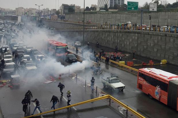 Iran blokkeert internet na straatprotesten