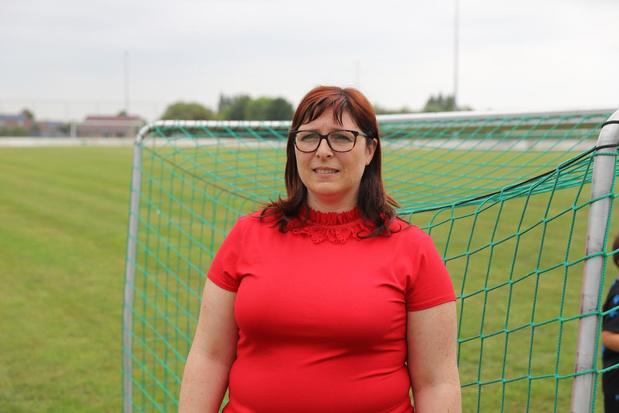 """Ilse Verwichte is nieuwe voorzitter van Merkem Sport: """"Mannen schrokken toen ik mij kandidaat stelde"""""""
