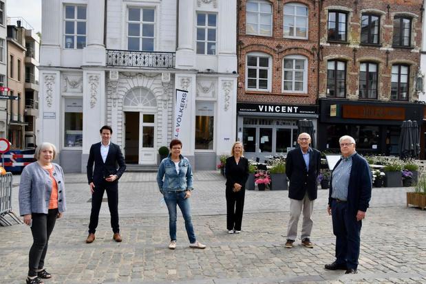 Sint-Lucasgilde stelt als eerste tentoon in vernieuwde Patria