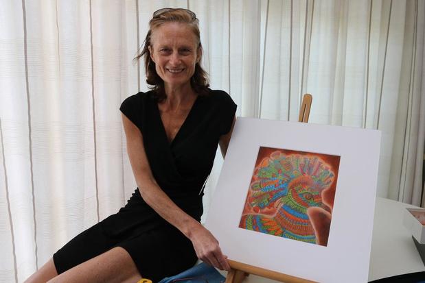 Kunstenares Ann Saelens uit Westouter zorgt voor kleur in coronatijden