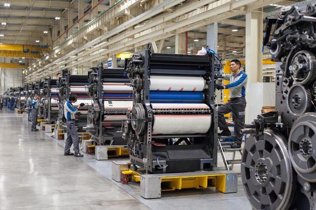 Heidelberg voit ses exportations chinoises augmenter