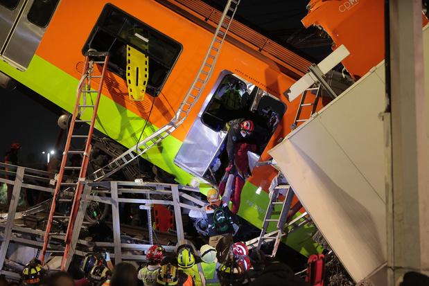 Ramp in metro Mexico-Stad: minstens 23 doden, ook kinderen