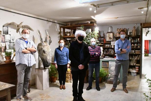 Kortrijk en Zuidwest organiseren Buren bij Kunstenaars zelf
