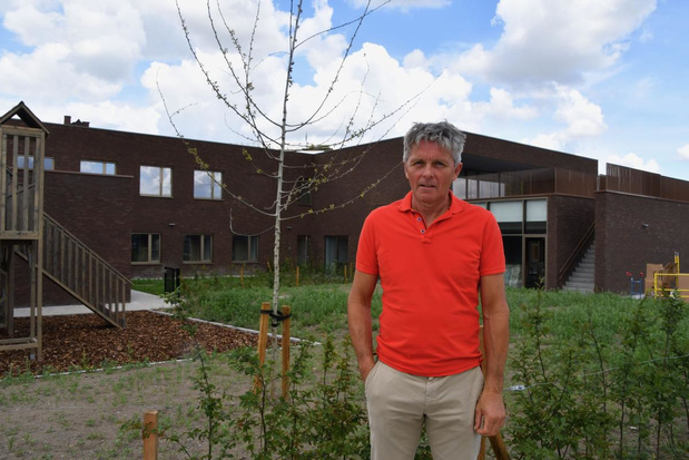 Laatste kinderen verhuizen uit oude gebouw van vzw De Korf aan de Pottelberg
