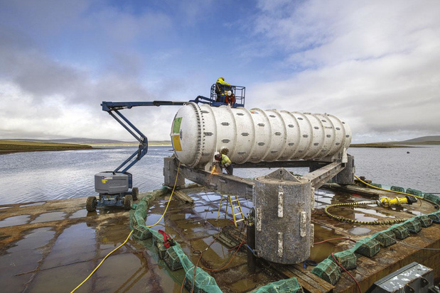Stocker des données sous la mer: plus écologique et plus fiable