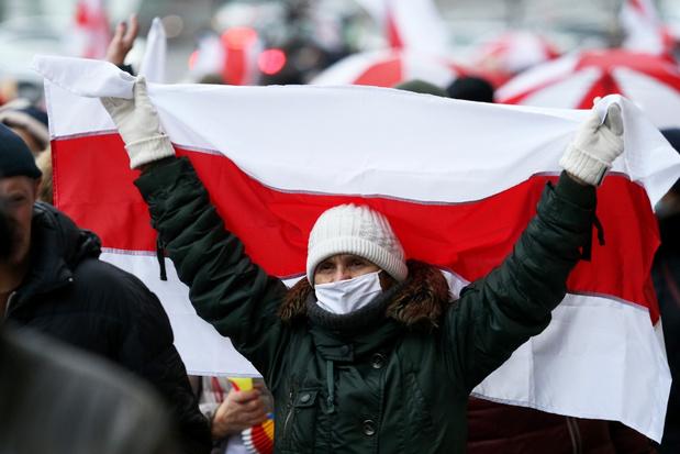 Meer dan 100 demonstranten opgepakt in Wit-Rusland