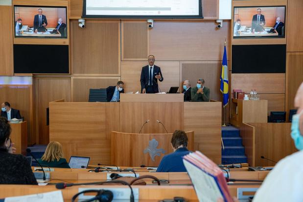 La commission spéciale Covid-19 du parlement bruxellois est installée