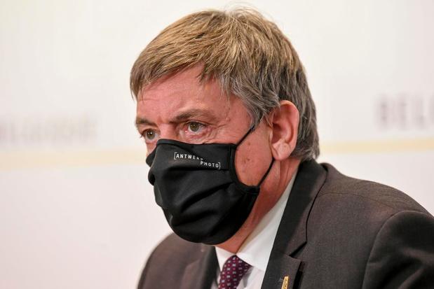 La Flandre constitue son propre stock stratégique de masques
