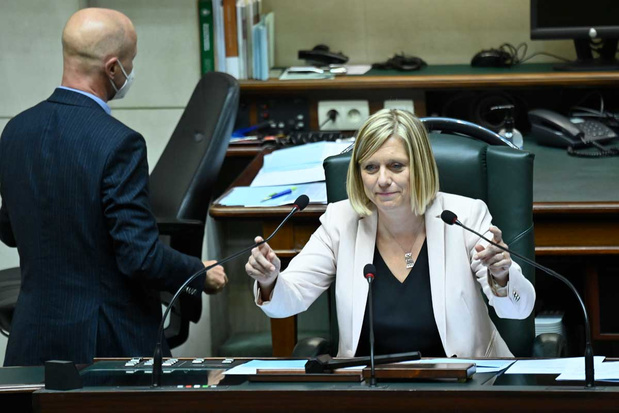 Eliane Tillieux (PS) is verkozen tot nieuwe Kamervoorzitter