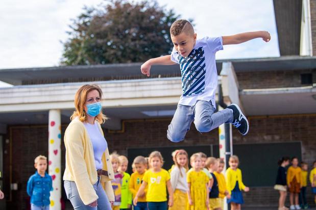 Schooljaar start bijzonder voor eerstejaars BS Prizma in Lendelede